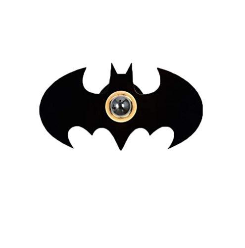Chambre lumière créative Sticker Mural lumière Dessin animé Chambre d'enfants Batman Ombre Applique Murale