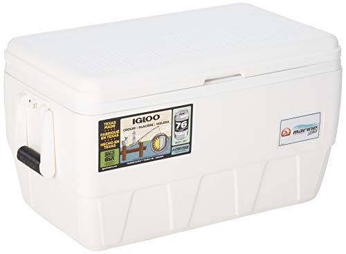 Igloo Marine Ultra Cooler (White, 48-Quart)