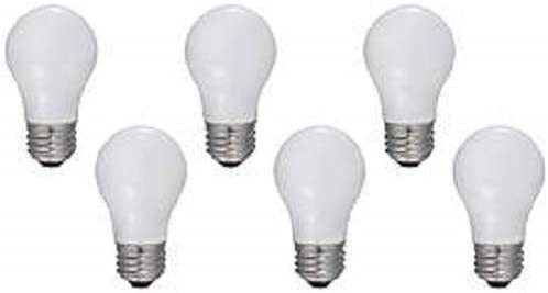 GE Appliance Light Bulb 40w A15 Frosted Pack of 6 product image
