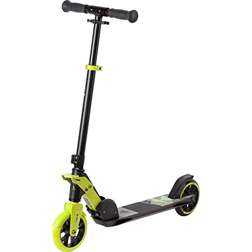 Firefly Unisex Jugend A 145 Kickscooter, Black/Green Lime, One Size