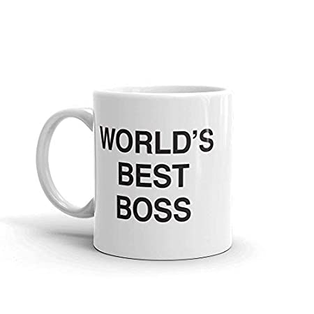 Words Best Boss Mug from the Office