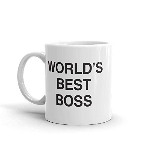 The Office World's Best Boss Mug