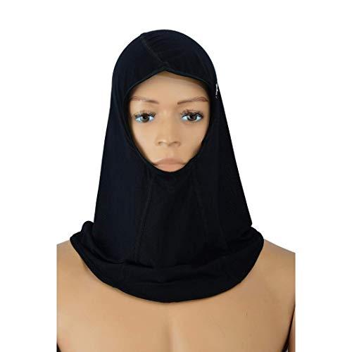 Playwell Artes Marciales Niña Mujer Sports Cabeza Hijab Funda (Ultra Ligero)