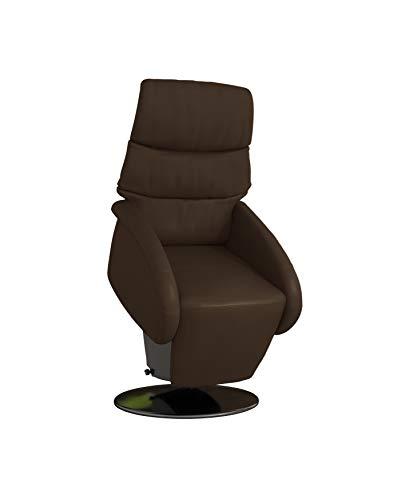 Devita elektrischer Aufstehsessel Fernsehsessel Relaxsessel Pflegesessel mit Aufstehhilfe Imola Lift drehbar 360°, Metallteller, bis 120 kg