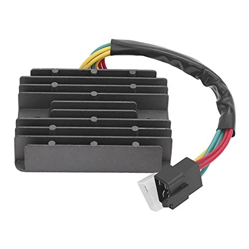 Yctze Regulador de voltaje rectificador 748998, reemplazo del rectificador del regulador de motocicleta para Monster/Hypermotard/Desmosedici