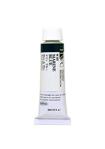 Holbein Artist's Watercolor 15ml Tube (Marine Blue) W302