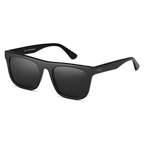 MVMT Highball | Non-Polarized Square Women's & Men's Sunglasses | Black/Grey | 53 mm