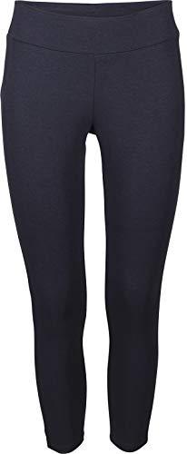 Golden Lutz - Damen Yogahose Yoga Hose Sporthose, lang (Gr. M 40/42, Navy - schmal/Slim fit)
