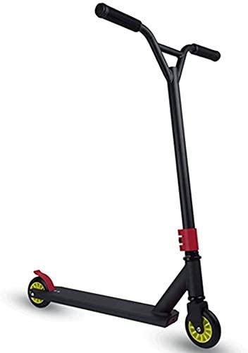 Patinete para Niños Scooters para niños, Pro Stunt Trick Scooter, Nivel de entrada Freestyle Kick Scooters, diseño robusto, agarre confiable, 7 rodamientos, durante 8 años y más, niños, adolescente