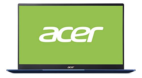 Acer Swift 5 (SF514-54T-76GW) 35,6 cm (14 Zoll Full-HD IPS Multi-Touch Matt) Ultrathin Laptop (Intel Core i7-1065G7, 16 GB RAM, 512 GB SSD, Intel Iris Plus Graphics, Windows 10 Home) blau/gold
