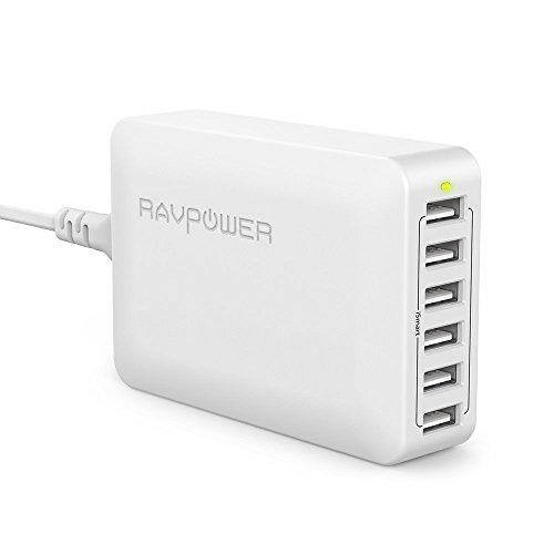 Imagen de RAVPOWER Cargador USB 60W 12A
