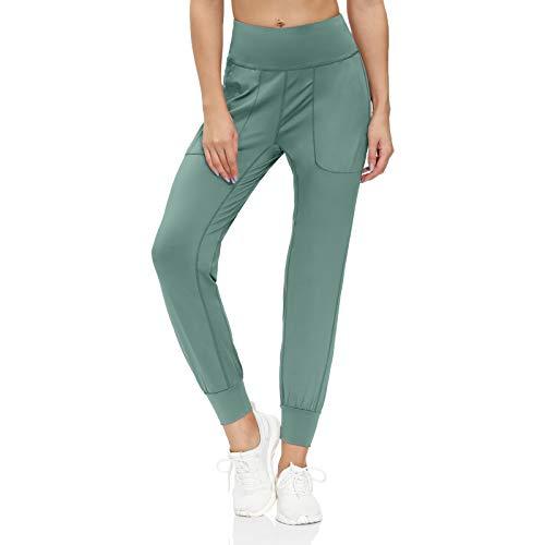 scicent Pantalones deportivos para mujer, con bolsillos, tallas S-XXL