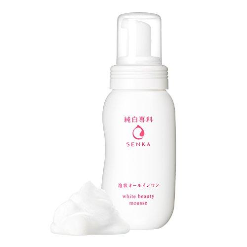 純白専科すっぴん潤い泡泡状美容液ノンオイリーオールインワン150ml