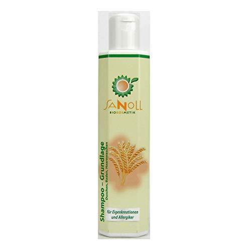 Sanoll Shampoo Grundlage - Duschen, Baden, Haarewaschen, 200 ml