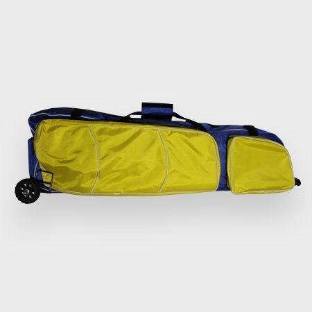 Jiang/Wuxi Fechttasche Rollbag (Blau mit gelben Taschen)