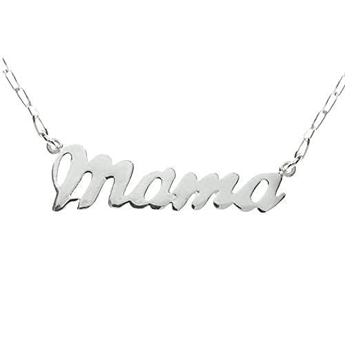 Collar Mamá de Plata de Ley 925 - Collar Día de la Madre