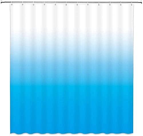 Dushenvorhang Engelsflügel Leuchtend Ozeanblau Duschvorhang Anti-Schimmel Anti-Schimmel Wasserabweisend Showercurtain 180*180Cm Top Qualität Wasserdicht, Anti-Schimmel-Effekt 3D Digitaldruck Inkl