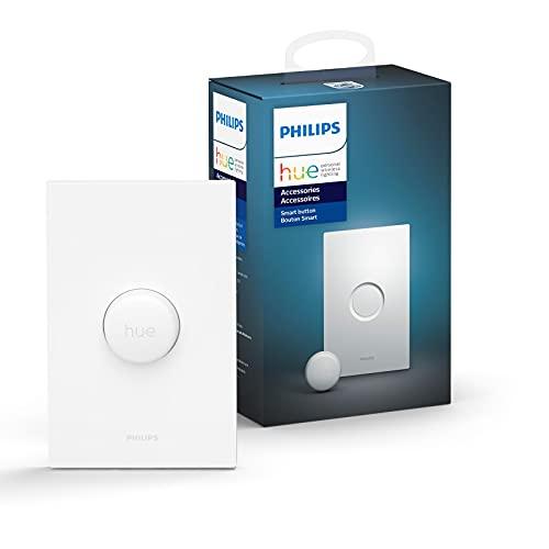 Philips Hue スマートボタン スマートデバイス スマートホーム IoT ワイヤレススイッチ 白
