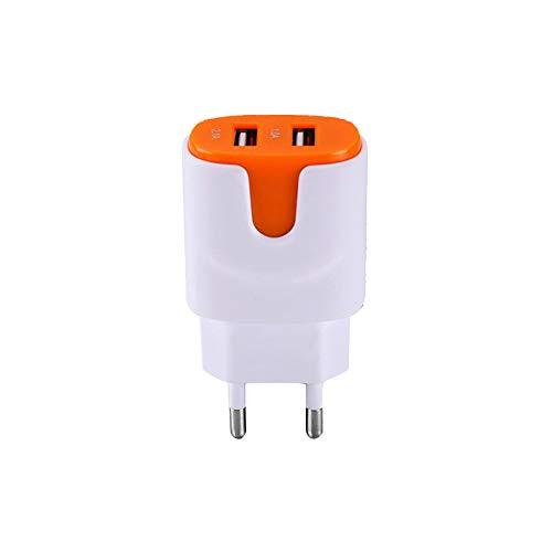 Shot Case Cargador Adaptador USB para Gionee Marathon M5Plus Smartphone/Tablet Naranja