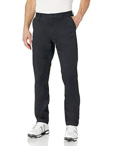 Oakley Men's Icon Chino Golf Pant, Blackout, 32X34