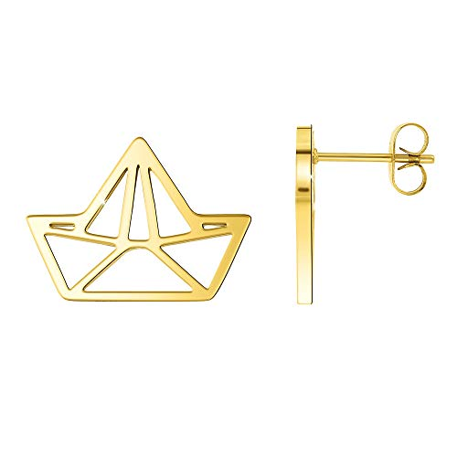 "Angele M. Women's Earrings Gold Tone Steel Earrings Christmas Gift Idea for Women – Click on ""See the SC Crystal Store"" to see all our jewellery."