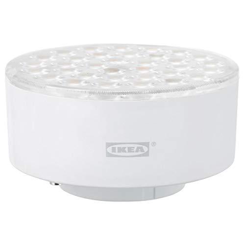 Juego de 2 bombillas LED IKEA LEDARE GX53 de 1000 lúmenes de atenuación cálida/ángulo de haz ajustable