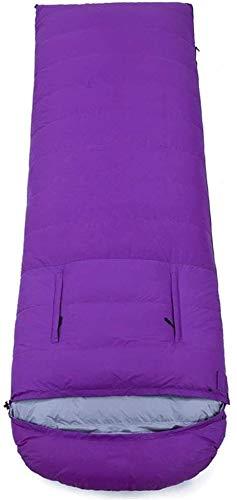 Sac de couchage léger et Chaud enveloppe Confort Adulte Robe Confortable en Plein air 4 Saison des nattes de Couchage, 2000 g, la Taille Nom: 2500 g Couleur Nom: Gris