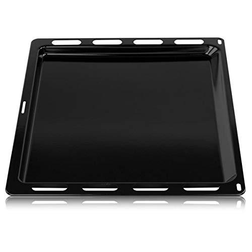 Bosch Siemens Viva 00748225 748225 ORIGINAL Backblech Fettpfannenblech Kuchen Pizza Blech Auffangschale Bratenplatte 442x370mm Backofen Ofen Herd auch Constructa Balay Neff