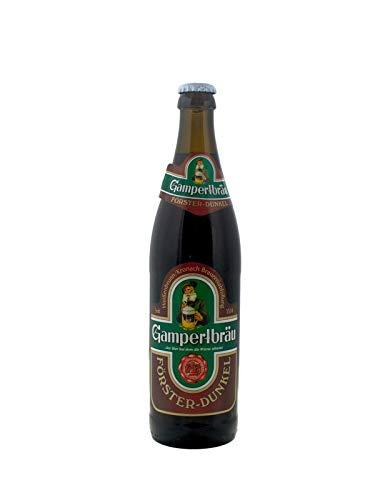 Gampertbräu Förster dunkel fränkisches Bier 6x0,5 Liter