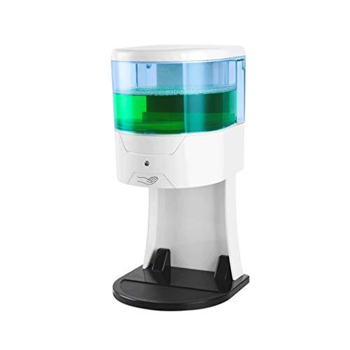 Dispensador de jabón para baño Dispensador de jabón automático 600 ml Caja de desinfectante de manos de baño montada en la pared Dispensador de jabón de perforación libre blanco Dispensador de jabón d