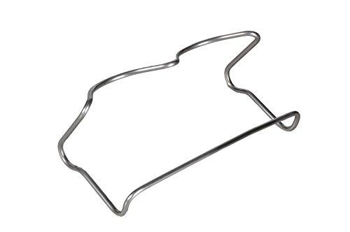 Eschenfelder Abtropf-Gestell für 2 Sprossen-Gläser aus Edelstahl