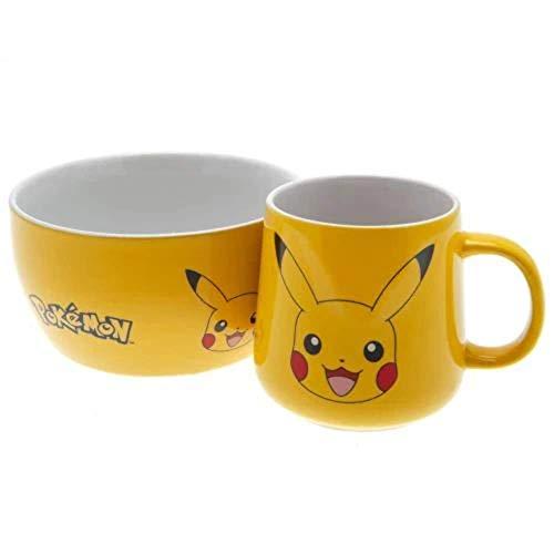 GB EYE Pokemon - Pikachu (Set Colazione) Merchandising Ufficiale, gelb, BS0003