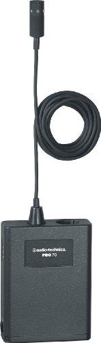 Audio-Technica PRO70 - Micrófono de condensador (cardioide), color negro