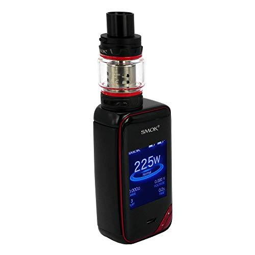 SMOK X-Priv Starter Kits ecigarette 225W Dual 18650 Vape Mods mit TFV12 Prince Tank 100{ce1dc37e6c48fa931af6a902183d622a7c4e00641b0d379b1de839d27dd64a60} Authentic Smoktech X Priv Kit-Schwarz Rot