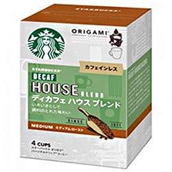 ネスレ日本 スターバックス オリガミ パーソナルドリップコーヒー ディカフェ ハウスブレンド (8.4g×4袋)×6箱入×(2ケース)
