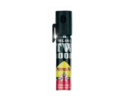 Hoernecke Pfefferspray TW 1000 Pepper-Fog Lady mit Clip (20 ml) passt in jede Handtasche und Hose