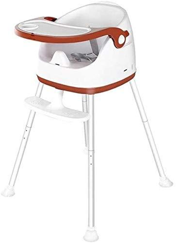 Silla de comedor para niños Silla alta para bebés en casa Silla de comedor para niños Silla de comedor bebé multifunción Mesa al aire libre portátil con bandeja y cinturón de seguridad