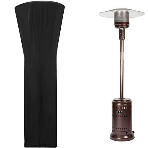 YAANGSI Fundas para Calentadores de Patio Tela Oxford 420D Impermeable con Cremallera y Bolsas de Almacenamiento, para Calentadores Redondos para Exteriores (Size : 87'X33'X19')