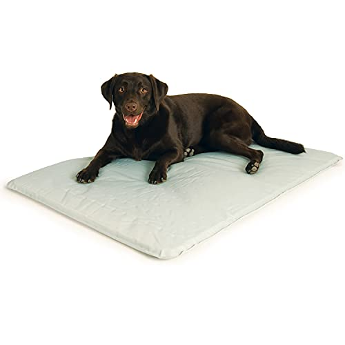 K&H Pet Products Cool Bed III Cooling Dog Bed Large Gray 32' x 44'