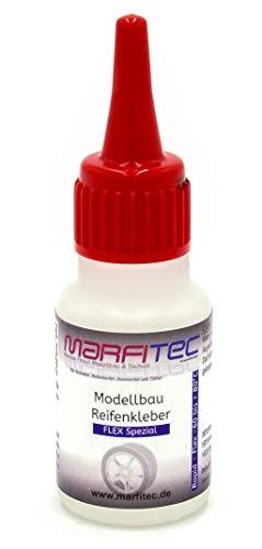 marfitec © Modellbau Reifenkleber 20g - Flex - Standard Verschluss