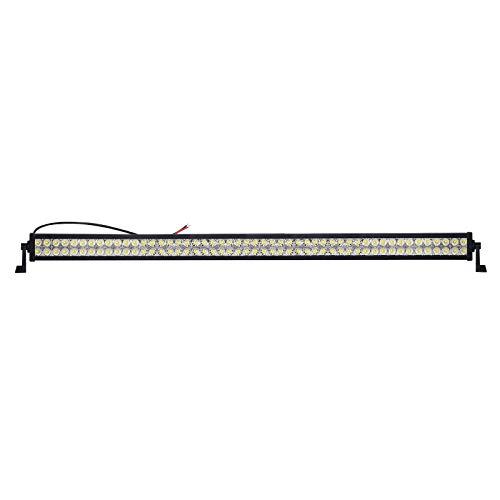 LARS360 300W LED Arbeitsscheinwerfer Auto Beleuchtung mit 100er Combo 3W LEDs Arbeitsleuchte LED Light Bar Offroad Zusatz Scheinwerfer Arbeitsscheinwerfer Wasserdicht IP67 für 4WD PKW SUV ATV