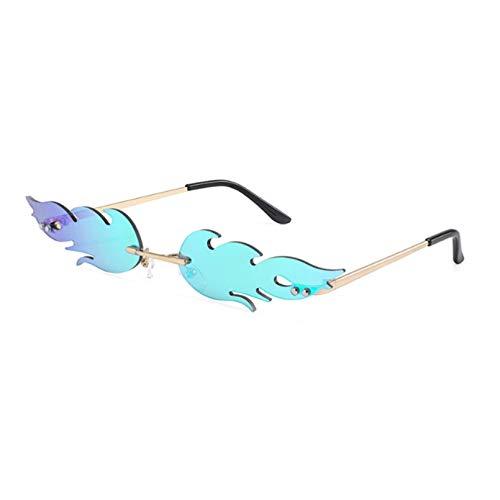 SUIBIAN Gafas de Sol de Ojo de Gato Vintage para Mujer, Gafas de Sol Retro, pequeñas Pantallas de Metal para Mujer, Gafas de Espejo UV400