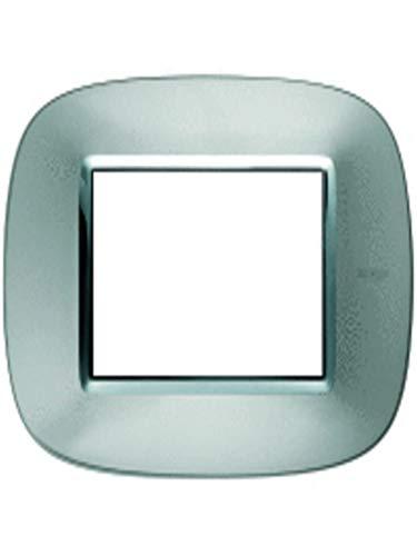 Bticino axolute - Placa 3 módulo axolute aluminio axolute