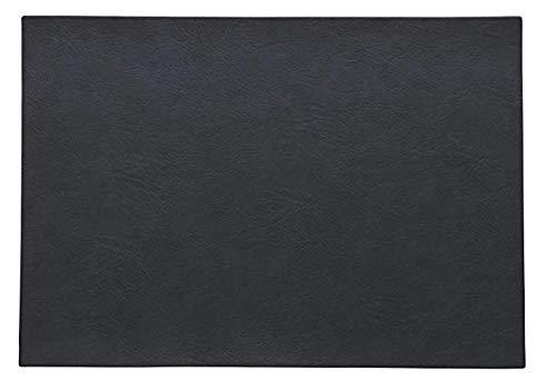 ASA 78303076 Set de table en PVC Nightsky 46 x 33 cm Végan leather, en PU 783076 ! Set de 2 x articles et 4 pailles en acier inoxydable EKM Living