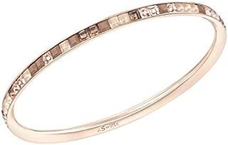 Atelier Swarovski Crystal Viktor & Rolf Thin Frozen Rose Gold Plated Bangle 5098916
