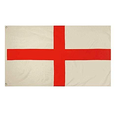Toyland® 5ft x 3ft (150 x 90 cm) St George Cross Britse vlag, perfect voor St. George's Day-vieringen