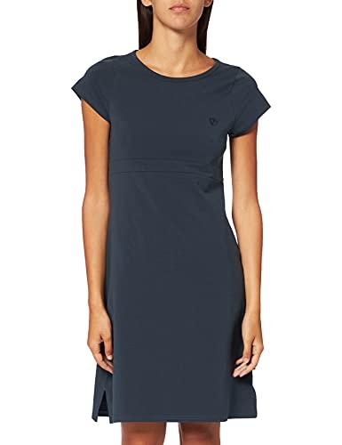 Fjällräven Womens High Coast Dress W T-Shirt, Navy, M
