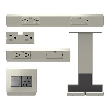 Under-Cabinet Pro Starter Kit which includes control box with paddle dimmer, 12' & 18' tracks,...