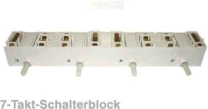 Interruptor bloque del Horno 4compartimento de 7del Electrolux 358198011
