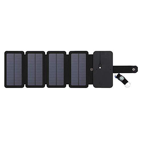 Cargador Tesoro Portátil Teléfono Móvil Paneles Placa Paquete Energía Solar para Cargar Bolsa Plegable